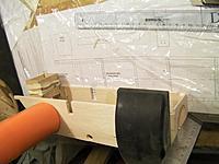 Name: 1537.jpg Views: 127 Size: 76.9 KB Description: Fuselage and motor mount glued.