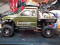 Name: SCX10 6 hole.jpg Views: 54 Size: 280.0 KB Description: New Alum. Wheels