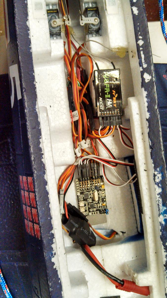 Attachment browser: F4U Corsair wiring with Hobby Eagle A3 Pro ...