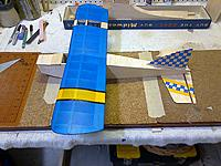 Name: IMG-20160416-00133.jpg Views: 54 Size: 838.2 KB Description: Eric Clutton's Sharkface getting close.  This one will have options for a 250/300 class brushless or Golden Bee .049