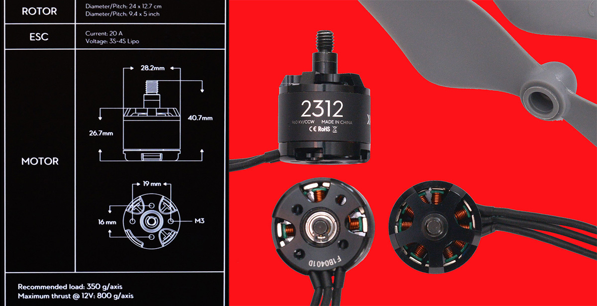 New Product Test review DJI E310 Tuned Propulsion : Sinewave