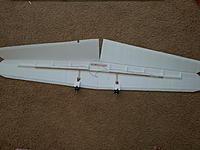 Name: 20150302_153856.jpg Views: 474 Size: 889.8 KB Description: Glued the wing halves, joiner spar in place