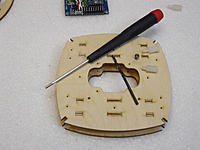 Name: 12 - xRotor IFrame.jpg Views: 254 Size: 106.6 KB Description: making pilot threads for my nylon standoffs