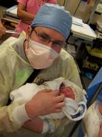 """Name: Ben Beriswill - Birth and Hospital 015.jpg Views: 103 Size: 80.0 KB Description: """"Big"""" Ben.  He looks small in comparison..."""