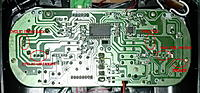 Name: TX board 2.jpg Views: 491 Size: 148.4 KB Description: Places where to solder. Note that I didn't solder anything on the throttle.