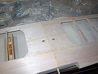 Name: HPIM1028.jpg Views: 240 Size: 202.4 KB Description: Holes in center sheeting for servo wires.