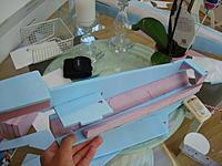 Name: Mirage 2000 B build 048.jpg Views: 69 Size: 151.4 KB Description: Pinkfoam triangles