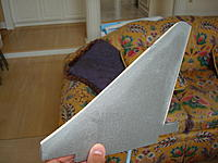 Name: Mirage 3 006.jpg Views: 67 Size: 220.4 KB Description: the tail after being sanded