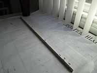 Name: tsp1.jpg Views: 436 Size: 104.8 KB Description: Pre-made mainspar. Carbon caps, vertical grain balsa, wrapped in kevlar thread.