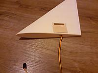 Name: 20190909_063027.jpg Views: 7 Size: 2.96 MB Description: Servo installed and ply plate attached.