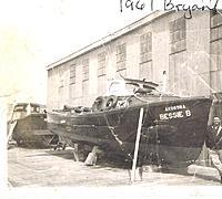 Name: CCI08132013_0000461.jpg Views: 102 Size: 198.2 KB Description: Dad with his boat. Pederson Point Alaska 1961