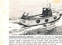 Name: tradition3.jpg Views: 102 Size: 181.3 KB Description: A clipping I have saved since 1966. The source is the fisherman's news. Joe was a close friend of my father and the boats were built a couple of weeks apart.