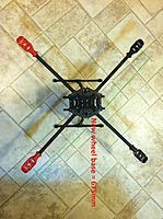 Name: IMG_1638 I.jpg Views: 703 Size: 164.0 KB Description: Frame w/ new motor mounts. New wheelbase = 675mm.