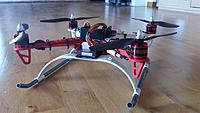 Name: 2013-08-13 10.38.48 (Medium).jpg Views: 138 Size: 120.6 KB Description: Trying landing gear from a Trex 600. A bit big.