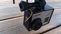 Name: 2014-06-22 21.13.24 (Medium).jpg Views: 144 Size: 178.2 KB Description: GoPro with cable for video out. This cable also have a 5V line for charging the camera. Not using that.