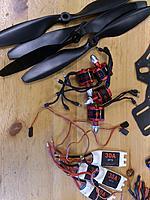 Name: 2014-05-17 09.50.50 (Medium).jpg Views: 112 Size: 359.7 KB Description: DJI 920KV motors, ESCs and props