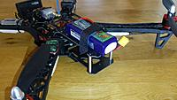 Name: 2014-09-17 13.15.00 (Medium).jpg Views: 40 Size: 232.7 KB Description: Battery mounted. Will go inside the frame when all is done.
