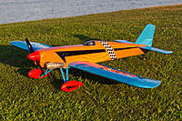 """Name: Smoothie 195.jpg Views: 11 Size: 5.91 MB Description: Balsa USA 40 Size Smoothie.  I have recently finished this airplane.  It was originally designed for 35-50 power.  I used an OS 55ax.  I had to """"shoehorn"""" the engine into the fuselage.  Flys like a Rocket with wings.  Still scares me!"""