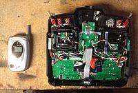 Name: 12.jpg Views: 661 Size: 74.5 KB Description: I removed the vibrator-motor from an old cell phone, and installed it on the PCB - Works like a charm!