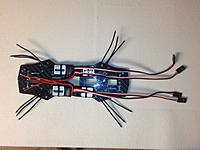 Name: 2014-10-25 23.20.27.jpg Views: 69 Size: 577.7 KB Description: GoGoRC carbon fiber 250 frame  RotorGeeks 12a BLHeli flashed ESCs