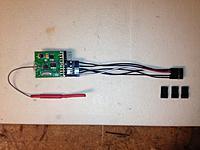 Name: 2014-11-06 22.23.53.jpg Views: 48 Size: 526.2 KB Description: FlySky 8ch RX w/ Naze32 BreakOut-cable / Modded -