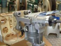Name: DSCF0094.jpg Views: 440 Size: 63.6 KB Description: Motor bolted on and ready for the plumbing.