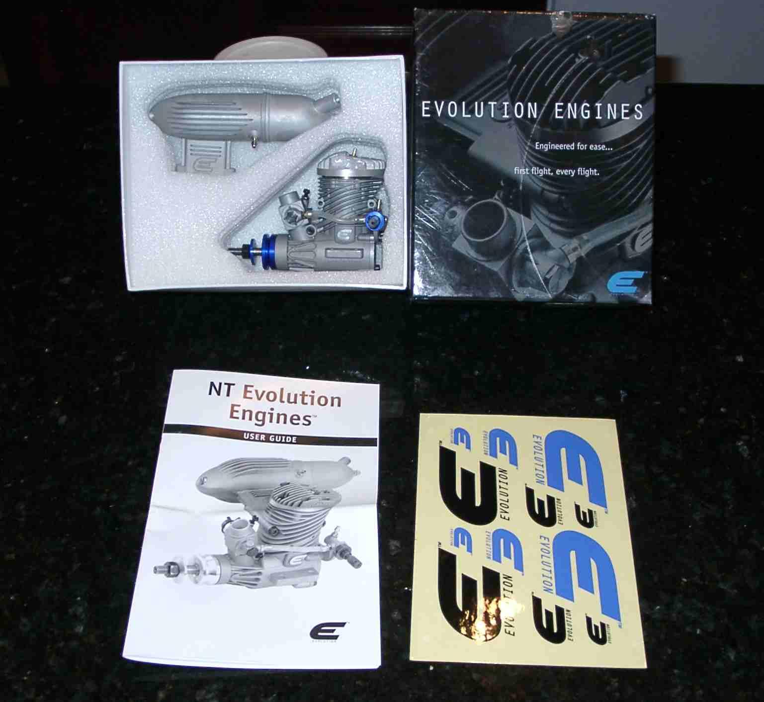 Name: engine2.jpg Views: 444 Size: 85.1 KB Description: The Evolution .46 Engine.