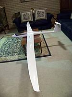 Name: n) View of model showing slight forward sweep of wings from fuselage.jpg Views: 1375 Size: 104.0 KB Description: