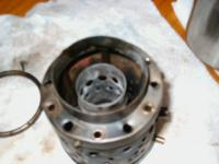 Name: engine show 116.jpg Views: 3327 Size: 121.0 KB Description: into the rear end of combustion chamber with fuel ring off