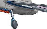 Name: Gripen_main_gear.JPG Views: 95 Size: 64.7 KB Description: Main gear, here misaligned and with the wrong bay door. But still :)