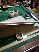 Name: 20171113_181705_resized.jpg Views: 25 Size: 681.3 KB Description: tape on the end that doesn't need material removed and a sander longer than the surface to be sanded . the key to sanding is sharp sandpaper  and Gentle pressure and frequent checking .