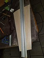 Name: 20171116_223402_resized.jpg Views: 16 Size: 944.3 KB Description: Long sanded until there was no light showing any where between wing and sander when held up to the  light . all sanding and work done on a beach towel now any hanger rash from now on will need to be filled and will add unnecessary weight
