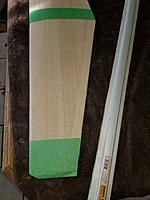 Name: 20171118_113059_resized.jpg Views: 23 Size: 953.8 KB Description: Even with all the measuring eyeballing etc.the center of the wing both top and bottom needed some light sanding to make sure they were the same and had a smooth joint ..