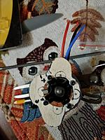 Name: 20190711_123006.jpg Views: 13 Size: 3.64 MB Description: It doesn't give me much meat to bolt to . I will have to grind a bit off one edge of the blind nuts or tap the motor mount and   struggle to put it  in front of the firewall .. The  fire wall  will have to be made with good material -birch and composite.