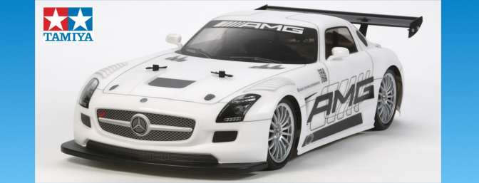 Tamiya Mercedes-Benz SLS GT3 AMG (TT-02).