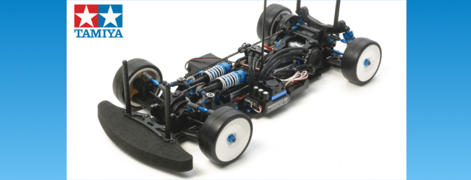 Tamiya TA06 MS Chassis Kit Limited Edition.