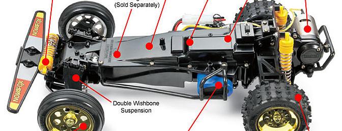 Tamiya FOX standard chassis.