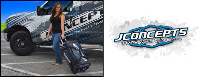 Get all the RC gear you need to the track and back with the new Roller Bag from JConcepts.