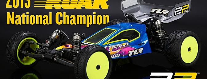 National Champion Buggy - Team Losi Racing 22 2.0 Race Buggy Kit.