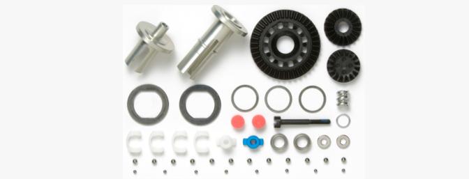 54522 - TB-04 Aluminum Ball Differential Set (40T)