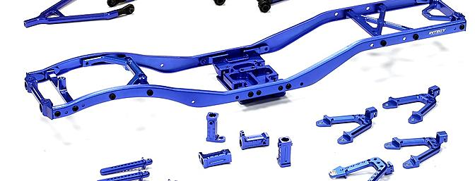 INTEGY Alloy Ladder Frame Chassis Kit for Axial SCX-10 vehicles - RC ...