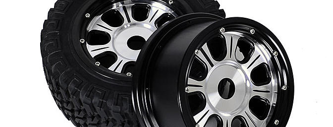 Raceline Monster 1/5 Scale Aluminum Beadlock Wheels - Z-W0046