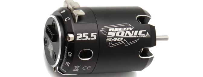 Reedy Sonic 540 Mach 2 25.5T Brushless Motor.
