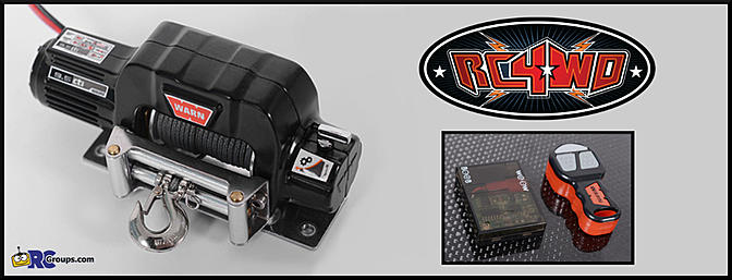 Rc4wd Officially Licensed Warn Winch And Controllers Rc Groups