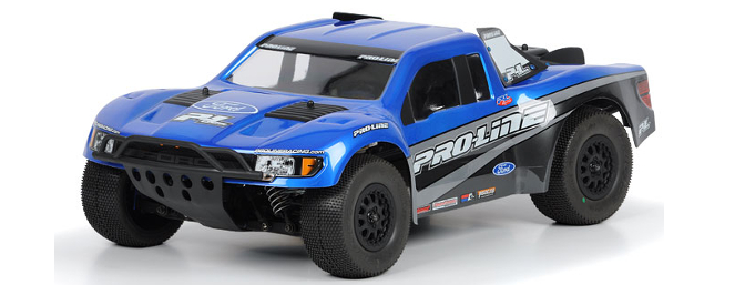 Awesome looks of the Ford Raptor plus the advantages of Pro-Line's Flo-Tek technology on one body.