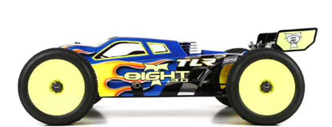 The body is a refined version of the revolutionary 8IGHT-T 2.0 truggy's cab forward body.