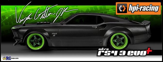 Hpi Nitro Evo Mustang Rtr X Rc Groups