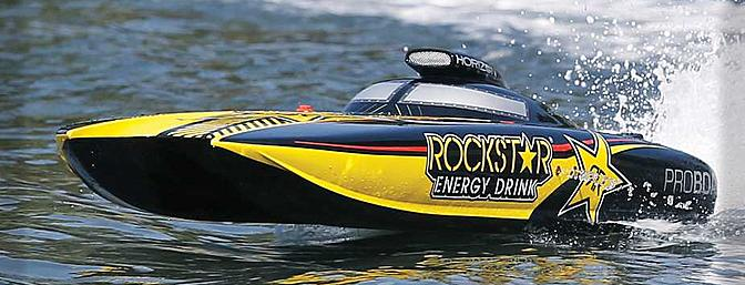 The officially licensed ROCKSTAR ENERGY graphics package looks sick when out on the water.