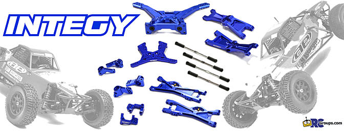 Integy Billet Machined Complete Suspension Kit - RC Groups