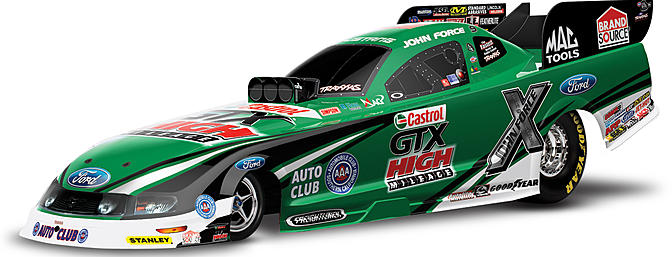 Traxxas Funny Car 1/8-scale.
